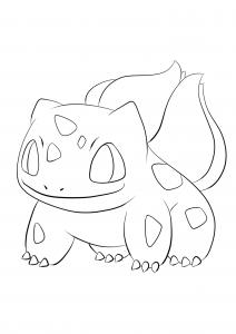 <b>Bulbizarre</b> (No.01) : Pokémon de génération I