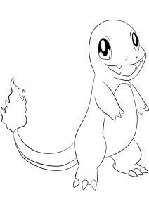 <b>Salamèche</b> (No.04) : Pokémon de génération I