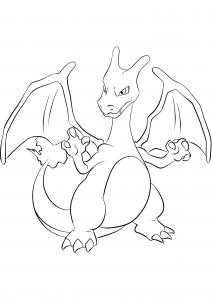 <b>Dracaufeu</b> (No.06) : Pokémon de génération I