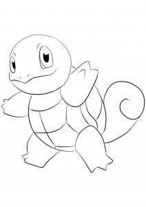 <b>Carapuce</b> (No.07) : Pokémon de génération I