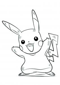 <b>Pikachu</b> (No.25) : Pokémon de génération I
