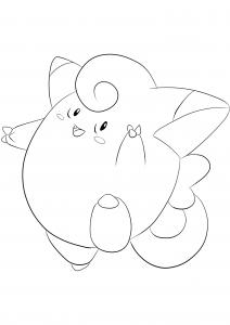 <b>Mélofée</b> (No.35) : Pokémon de génération I