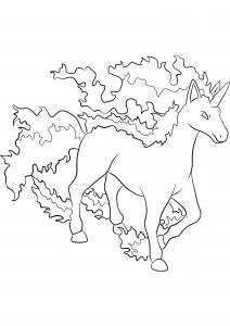 <b>Galopa</b> (No.78) : Pokémon de génération I