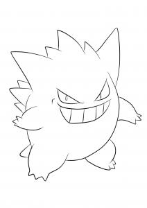 <b>Ectoplasma</b> (No.94) : Pokémon de génération I