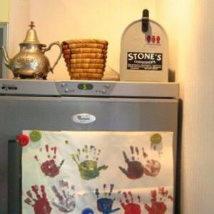 Exposez les dessins de vos enfants sur votre frigo !