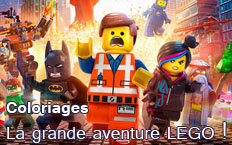 Coloriages La Grande Aventure LEGO
