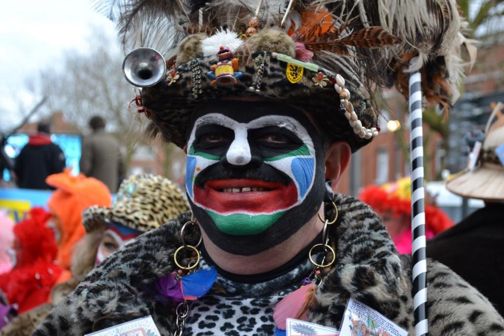 Photo d'un Carnavaleux de Dunkerque, prise lors de l'édition 2014