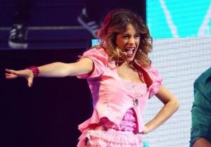 Violetta en plein concert