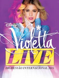 Affiche Violetta LIVE 2015