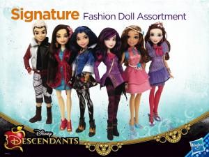Poupées des Descendants (Disney) par Hasbro