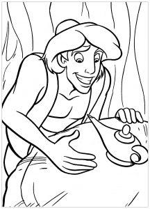 Aladdin et la lampe magique