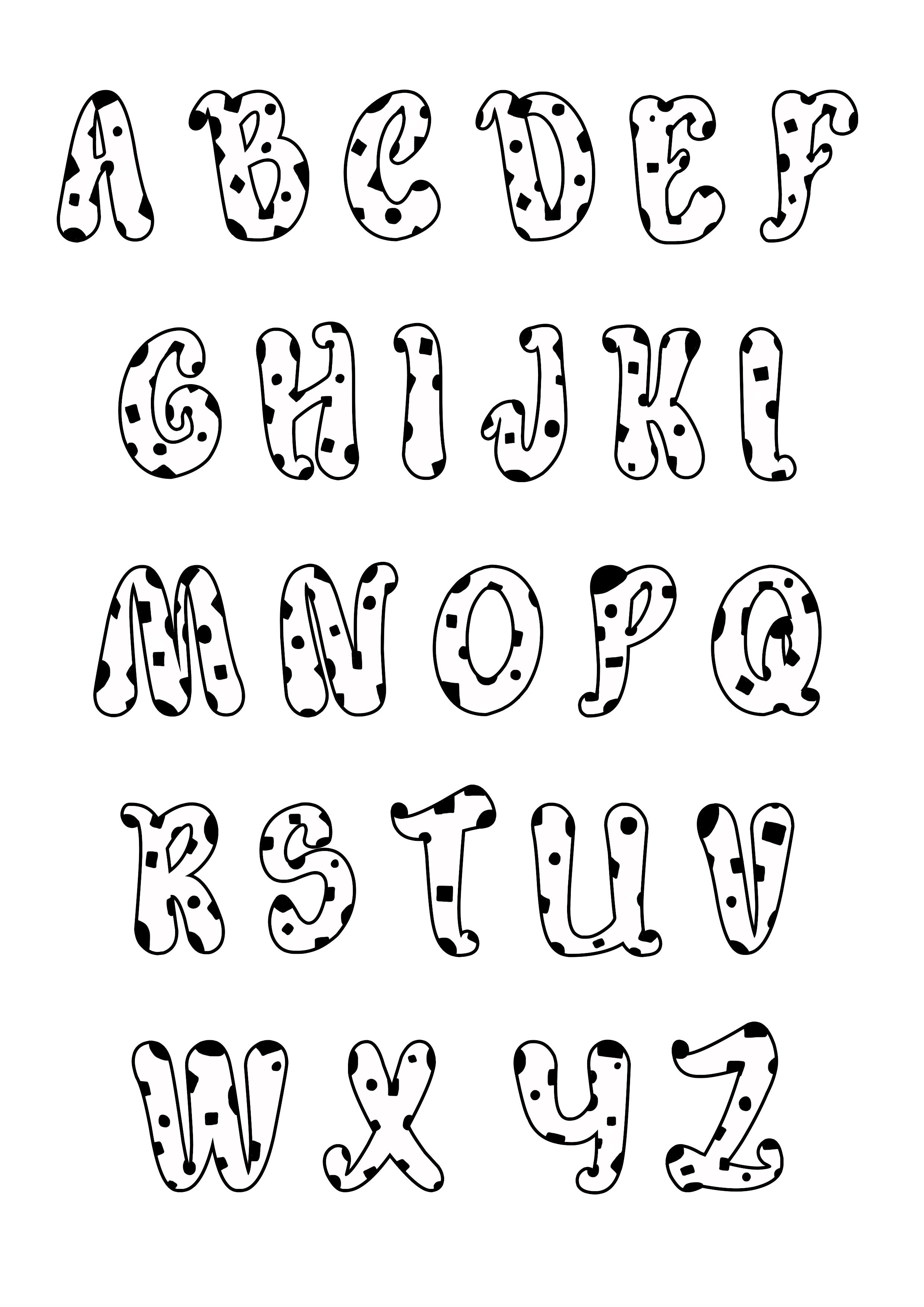 enfant alphabet style dalmatiens 2 coloriages alphabet. Black Bedroom Furniture Sets. Home Design Ideas