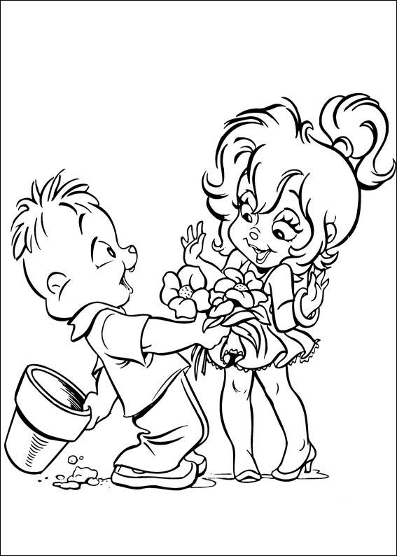 Alvin et les chipmunks 4 coloriage alvin et les chipmunks coloriages pour enfants - Coloriage alvin et les chipmunks 4 ...
