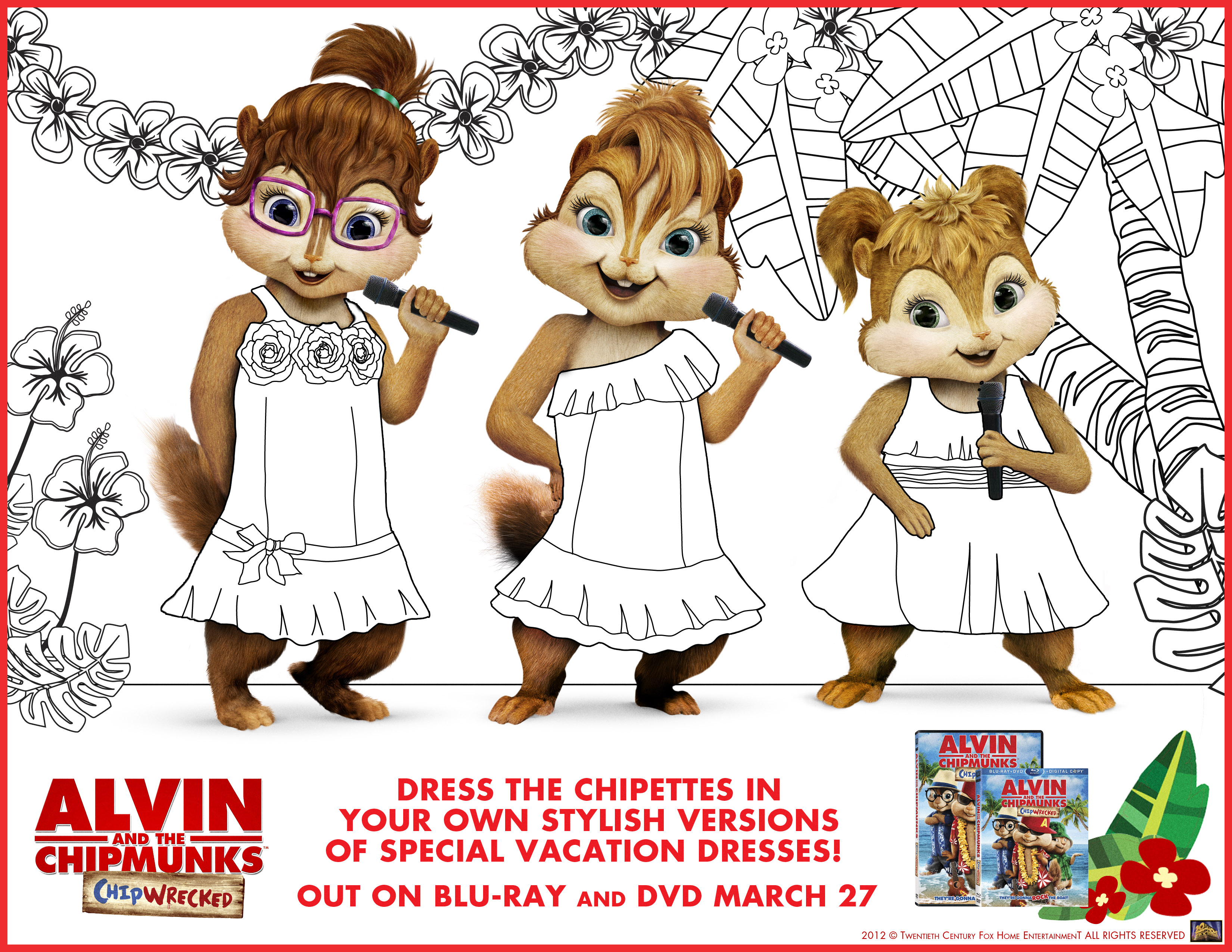 Coloriage De Alvin Et Les Chipmunks A Imprimer Coloriage Alvin Et Les Chipmunks Coloriages Pour Enfants
