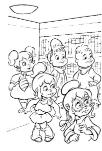 coloriage-alvin-et-les-chipmunks-3 free to print