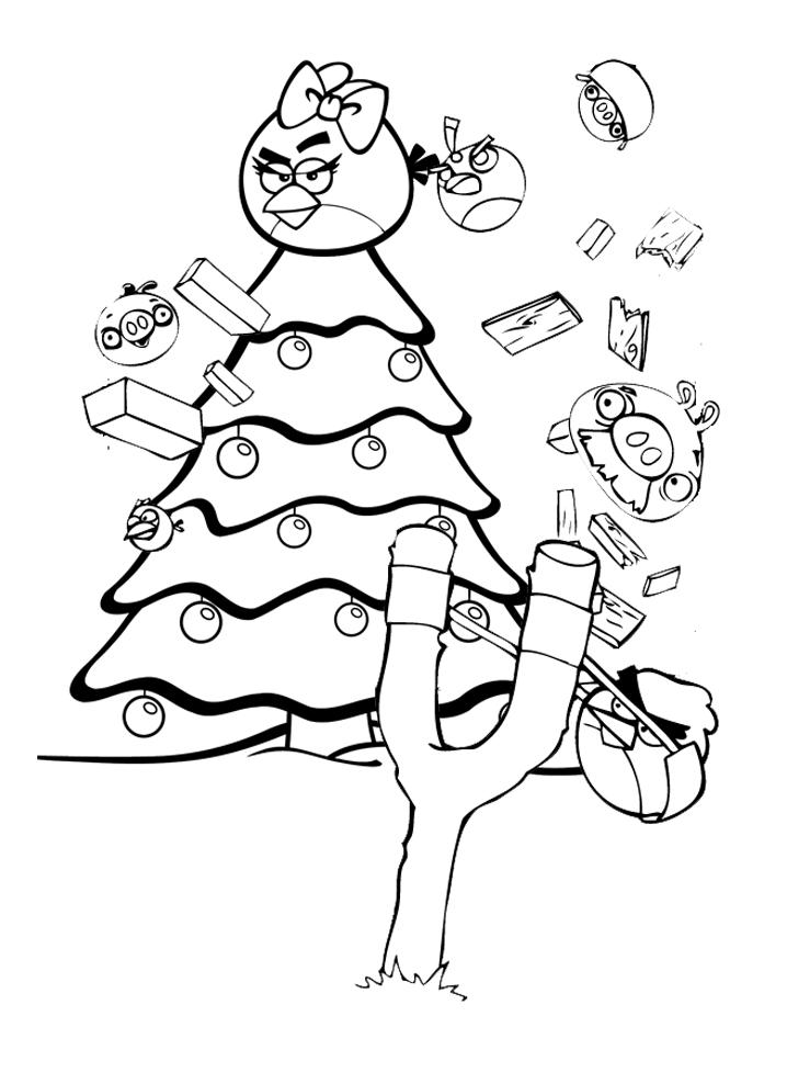 Image de plusieurs personnages d'Angry Birds