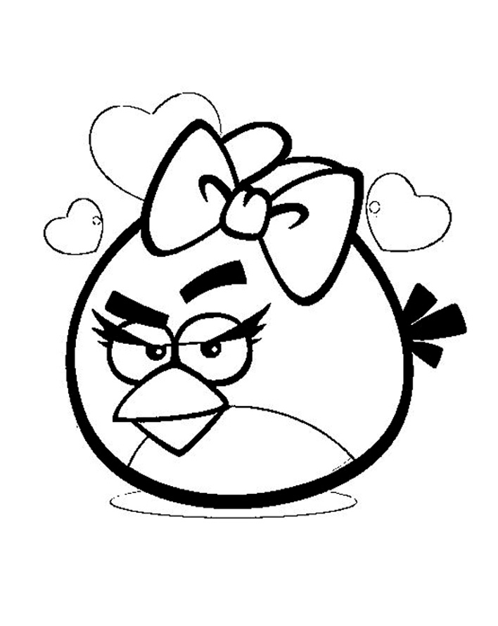 Angry birds 6 coloriage angry birds coloriages pour - Dessin a colorier angry bird ...