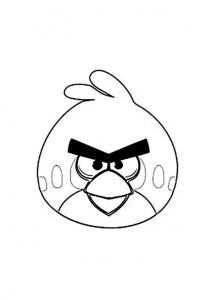 Coloriage angry birds 1