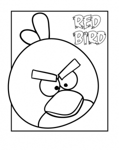 Coloriage angry birds coloriages pour enfants page 2 - Coloriage angry birds ...