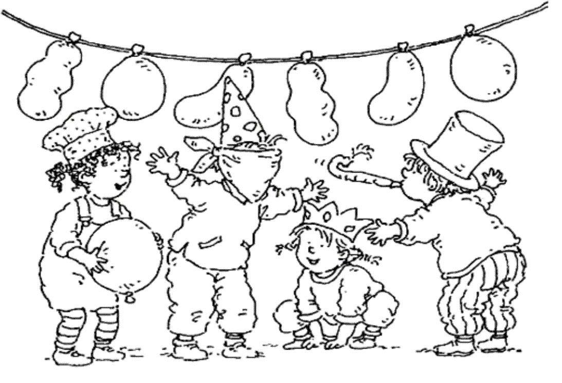 coloriage anniversaire 5 free to print