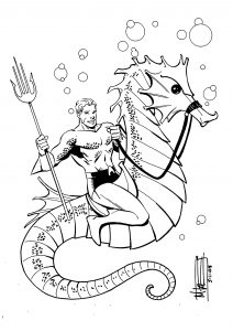 Aquaman coloring pages Best of Aquaman by Miketron2000viantart on DeviantArt