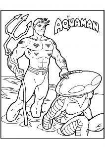 Aquaman coloring pages Unique Their Own Each the World S Greatest Superheroes is A force to