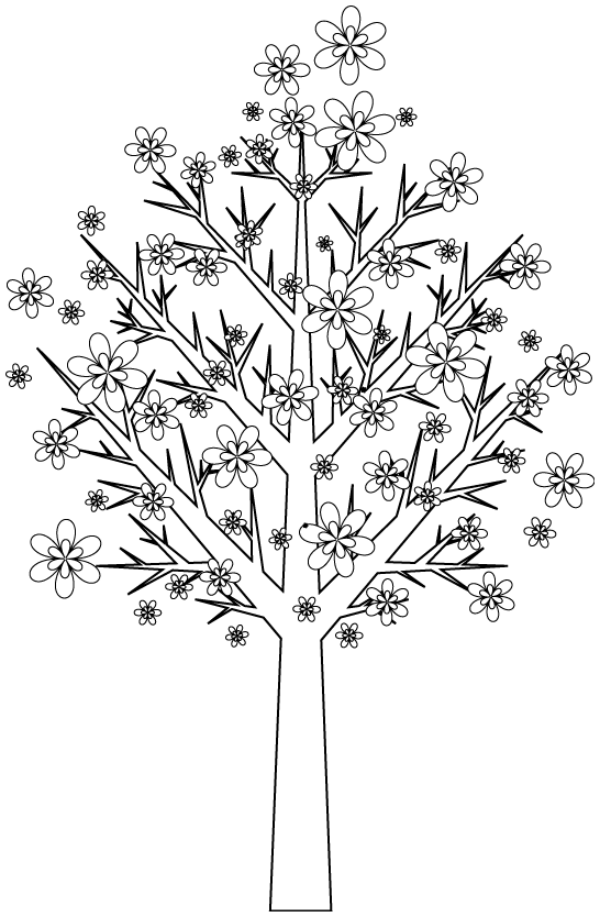 coloriage arbre 3 coloriage d 39 arbres coloriages pour enfants. Black Bedroom Furniture Sets. Home Design Ideas