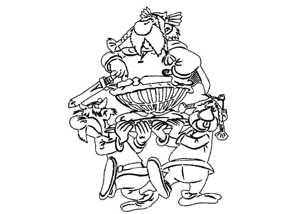 Coloriages asterix 3 coloriage asterix et ob lix - Dessin de asterix ...