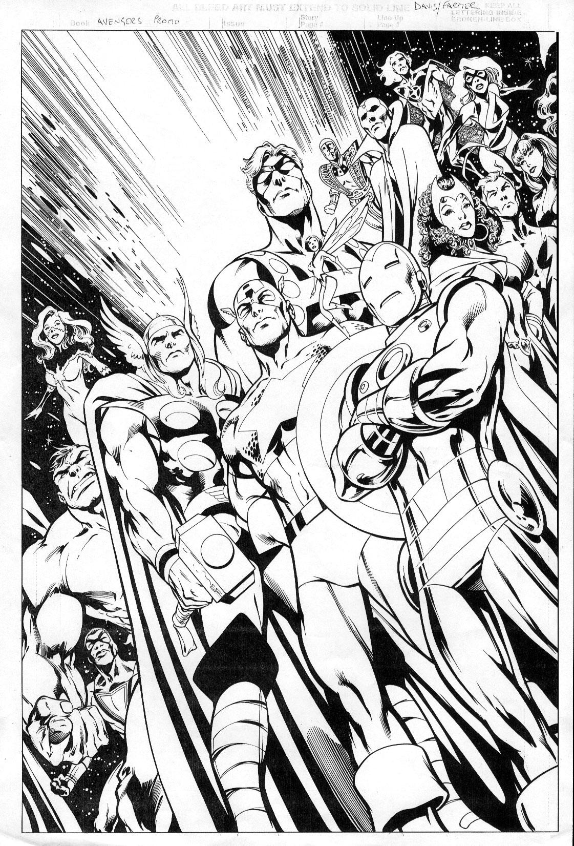 Comics Avengers 6 Coloriage Avengers Coloriages Pour Enfants