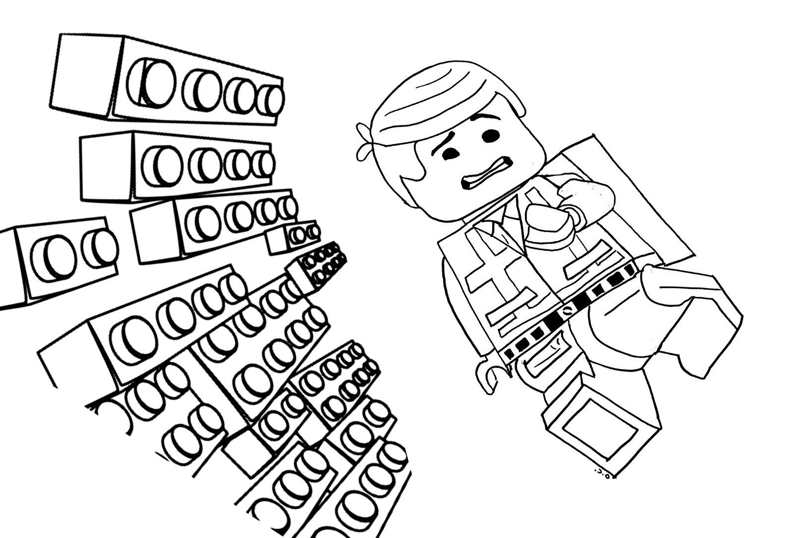 emmett coloring pages - photo#15