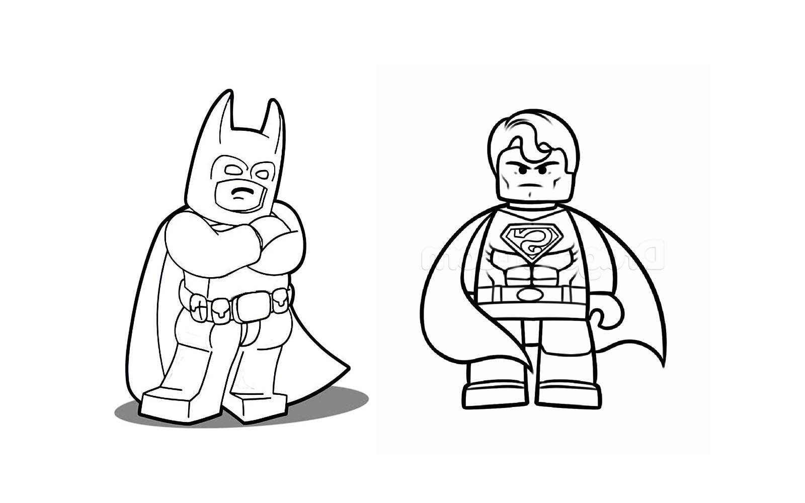 Batman et Superman réunis par les LEGOS