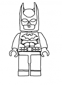 Coloriage lego batman2