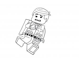 Coloriage de La Grande aventure Lego pour enfants