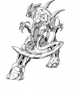 Coloriage_bakugan 11