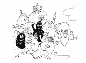coloriage-barbapapa-9 free to print