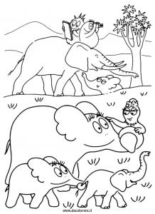 Barbapapa en éléphant