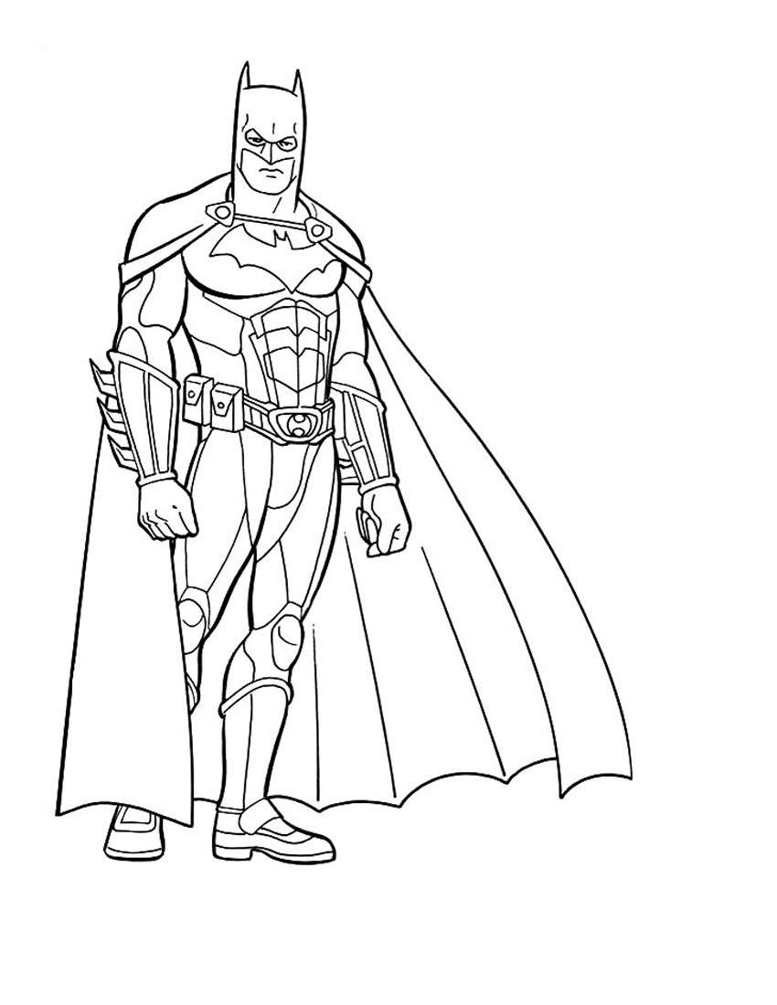 Batman 2 coloriage batman coloriages pour enfants - Coloriage batman ...