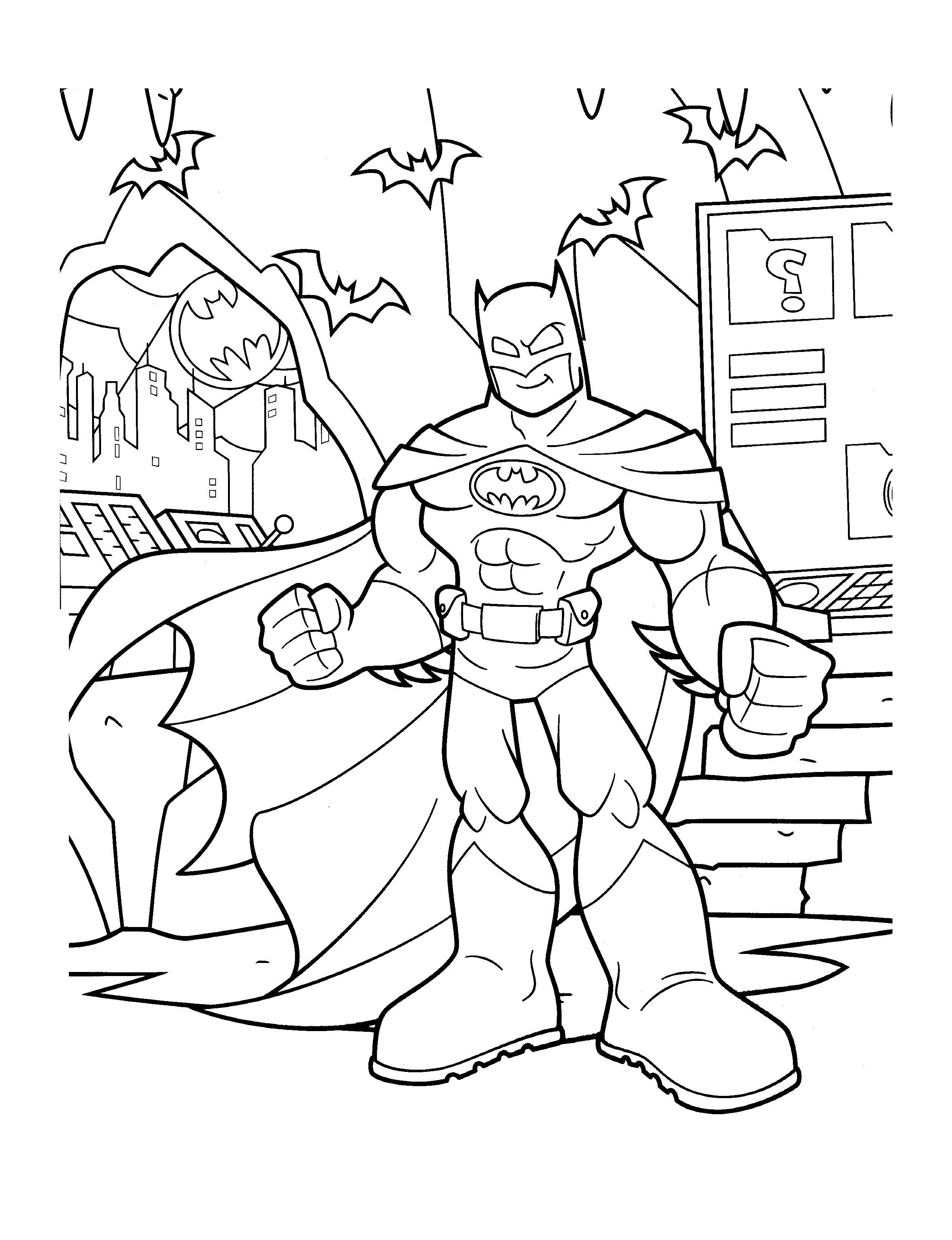Gratuit batman 1 coloriage batman coloriages pour enfants - Batman gratuit ...