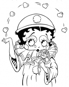 coloriage-betty-boop-6