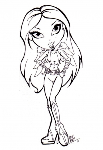 coloriage-bratz-6 free to print