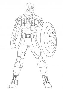 Ironman And Captain America Coloring Pages Fresh Captain America Coloring Pages Batgirl Coloring Pages Superhero