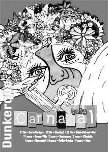 coloriage-affiche-carnaval-2014-de-dunkerque free to print