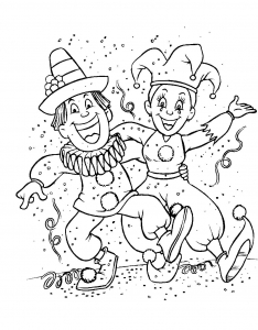 coloriage-carnaval-5 free to print