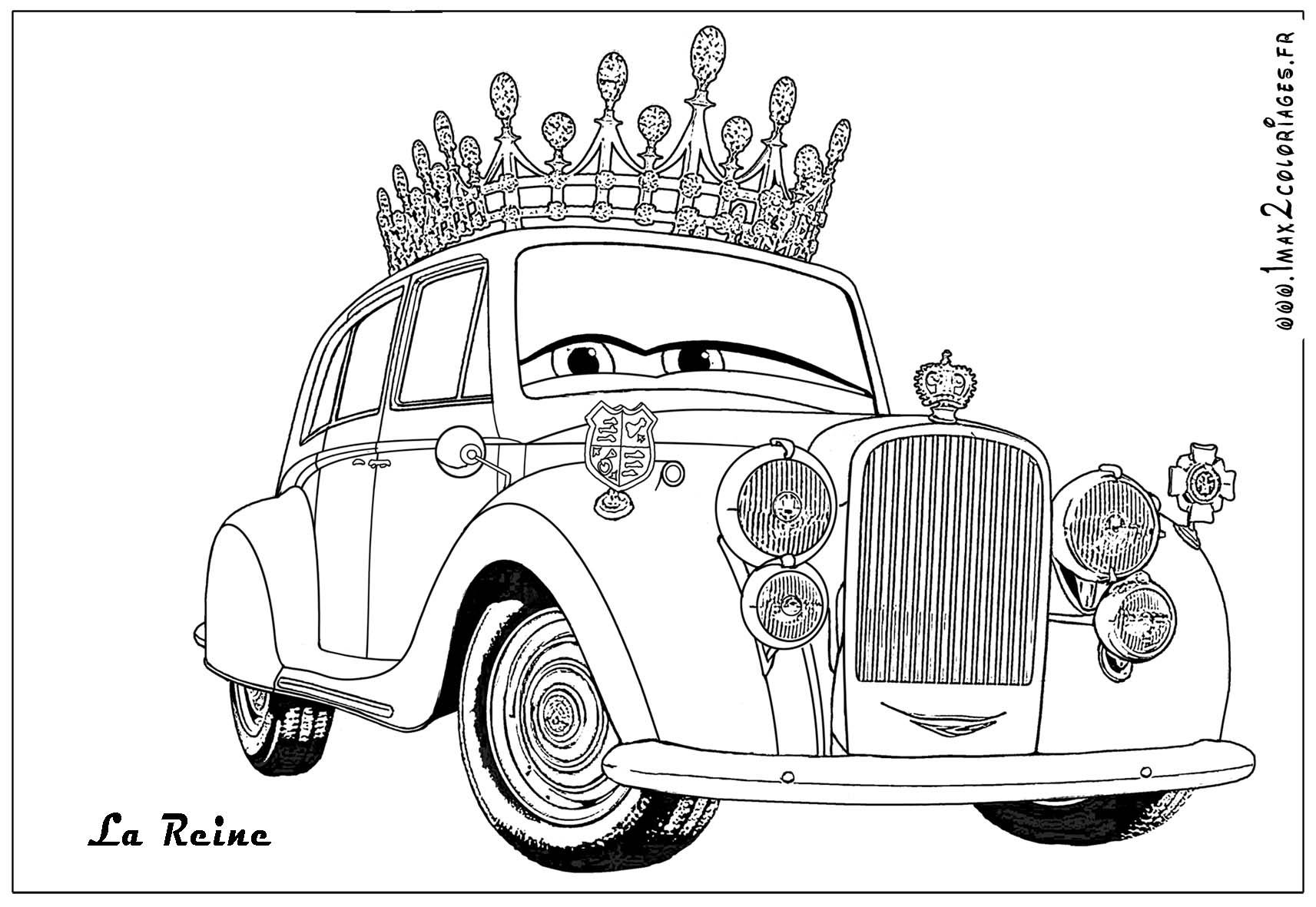 Coloriages cars2 10 coloriage cars 2 coloriages pour enfants - Image a colorier cars 2 ...
