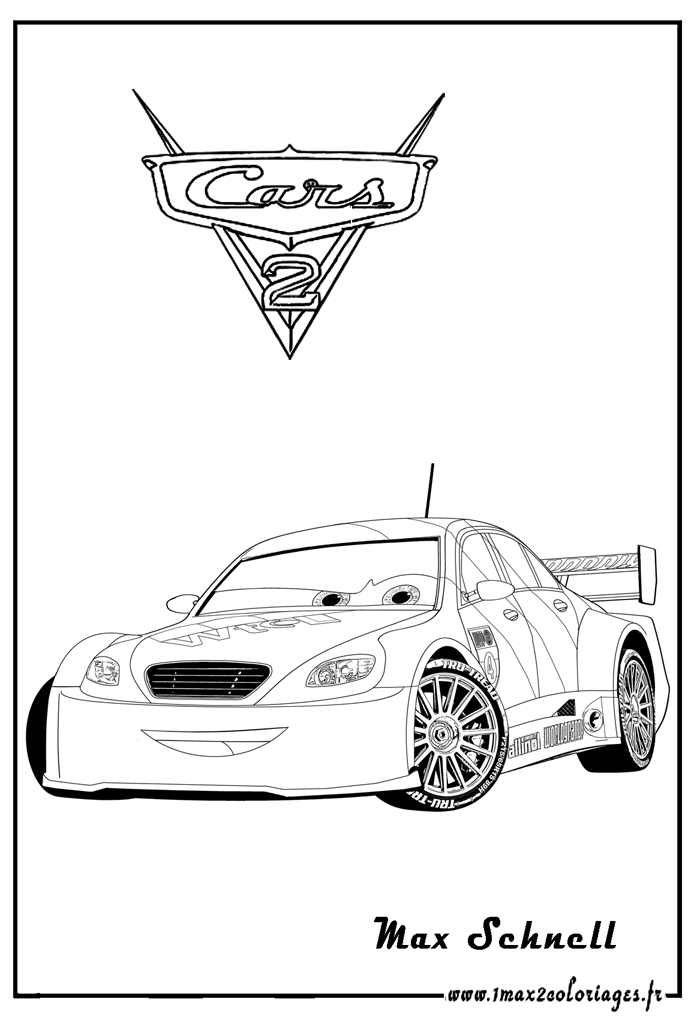 Coloriages cars2 7 coloriage cars 2 coloriages pour enfants - Image a colorier cars 2 ...