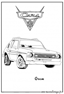 Coloriages cars2 1