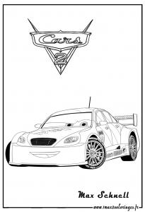Coloriage cars 2 coloriages pour enfants - Coloriages cars 2 a imprimer ...