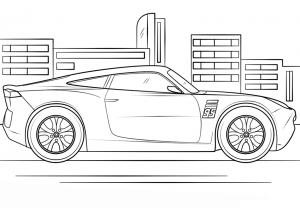 Coloriage cars 3 cruz ramirez