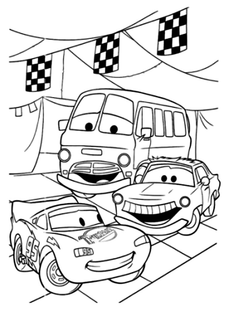 Cars disney pixar 23 coloriages cars coloriages - Coloriage pixar ...