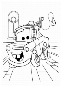 Coloriage cars disney pixar 1